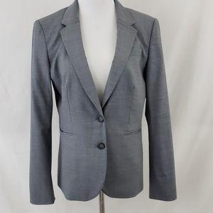 Banana Republic Gray Italian Wool Blazer sz 12